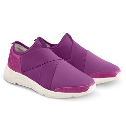 Sock-Sneaker X Lila