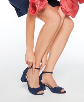 Die Stars für nachgeholte Parties: Sandalen kommen im Frühjahr/Sommer mit komfortablem Mid-Heel daher