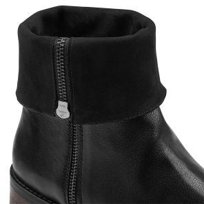 Hallux Stiefel mit Krempelschaft Schwarz und superweichen Dehnzonen im Vorfußbereich