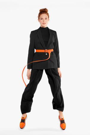 Hallux Sock-Sneaker Orange mit Extra-Komfort bei empfindlichen Füßen