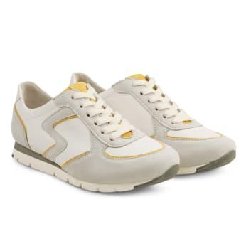 Premium Sneaker Colourline Weiß/Gelb