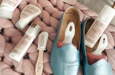 Wir zeigen Ihnen, wie Sie Ihre LaShoes perfekt pflegen und lange Freude daran haben