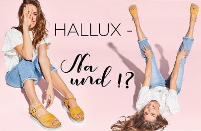Clevere Details und Hallux Comfort-Zonen lassen Sie Ihren Hallux vergessen