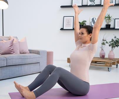Yoga bei Hallux valgus: Core