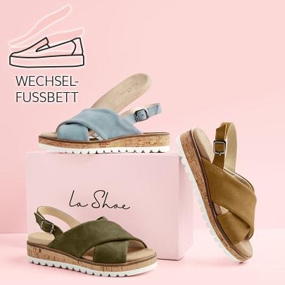LaShoes mit Wechselfußbett als Garant für individuellen Tragekomfort