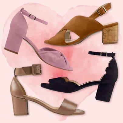 Mid-Heel-Sandalen mit Wow-Faktor vereinen Komfort und Modevergnügen
