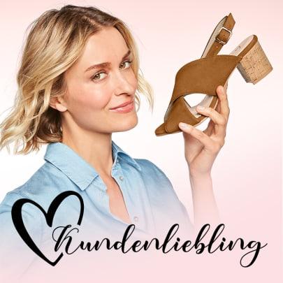 Absoluter Kundenliebling - Entdecken Sie unsere Sandale auf Korkabsatz