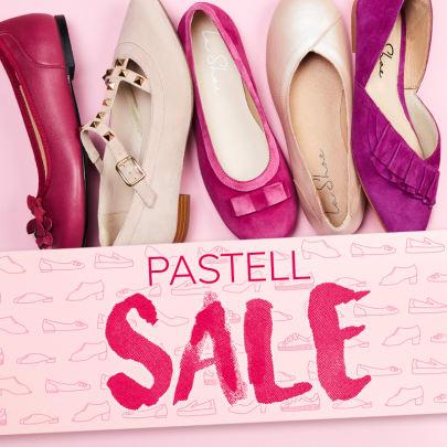 Voll im Trend und bis zu 30 % reduziert – LaShoes in zarten Pastellfarben