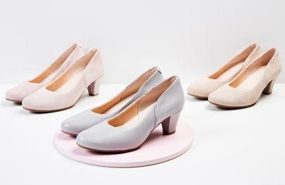 Starten Sie durch mit unseren bequemen Hallux-Pumps für empfindliche Füße. Feminine Eyecatcher für echte Powerfrauen