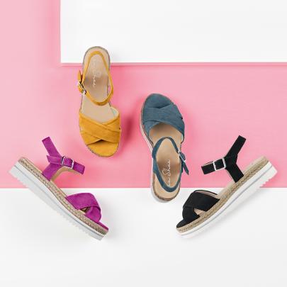 Bunte Sandalen mit gute-Laune-Garantie für die Füße