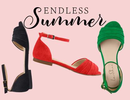 Genießen Sie den Sommer mit unseren bequemen Sandalen
