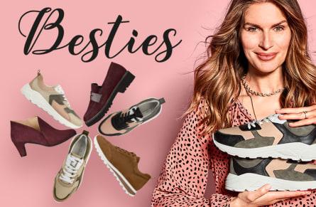 Weil diese LaShoe-Liebling besonders viele anspruchsvolle Füße glücklich gemacht hat, gibt es sie jetzt in neuen Farben!