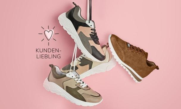 Diese Sneaker haben eine Neuauflage verdient, da unsere Kundinnen mit anspruchsvollen Füßen und Hallux valgus sie lieben.