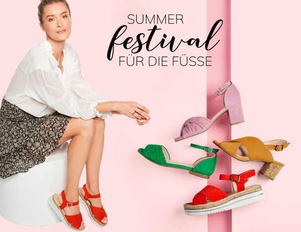 LaShoes für anspruchsvolle Füße und Hallux Valgus in den neuen Sommerfarben entdecken
