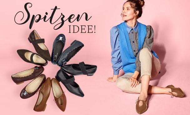 Entdecken Sie unsere liebsten Ballerina-Styles in diesem Herbst/Winter 2021 für anspruchsvolle Füße und Hallux valgus