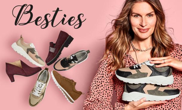 Unsere Kundenlieblinge für anspruchsvolle Füße und Hallux valgus in neuen Farben sind endlich da!