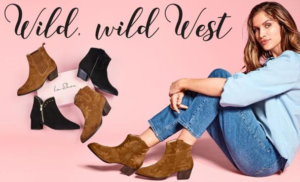 Wir stellen den wildesten Stiefeletten-Trend für Herbst/Winter 2021 vor: Western-Stiefeletten für anspruchsvolle Füße und Hallux valgus.