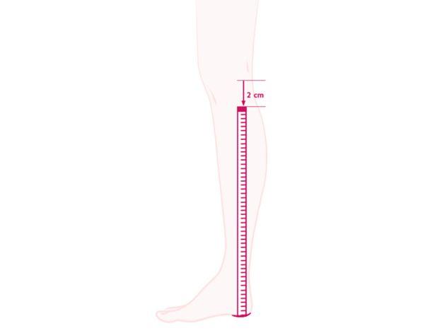 Schaftlänge beim Hallux Stiefel richtig messen