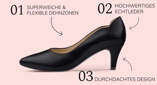 Das Geheimnis hinter dem LaShoe-Prinzip und den Hallux Comfort-Stretchzonen.