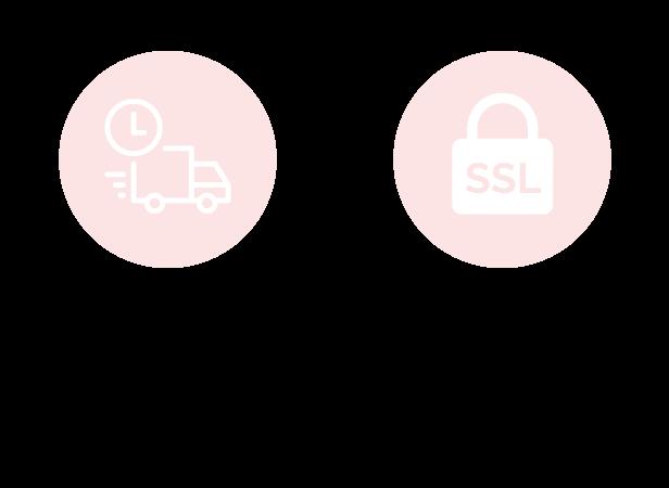 Ihre Vorteile bei LaShoe: Schnelle Lieferung und sichere Zahlung