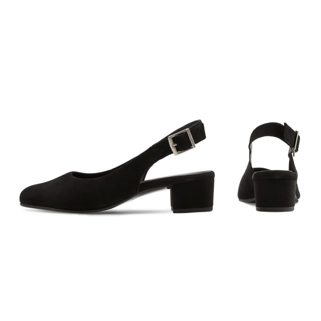Sling Pumps Schwarz – modischer und bequemer Schuh für Hallux valgus und empfindliche Füße von LaShoe.de