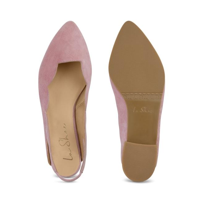 Sling Ballerina Wave Violett – modischer und bequemer Schuh für Hallux valgus und empfindliche Füße von LaShoe.de