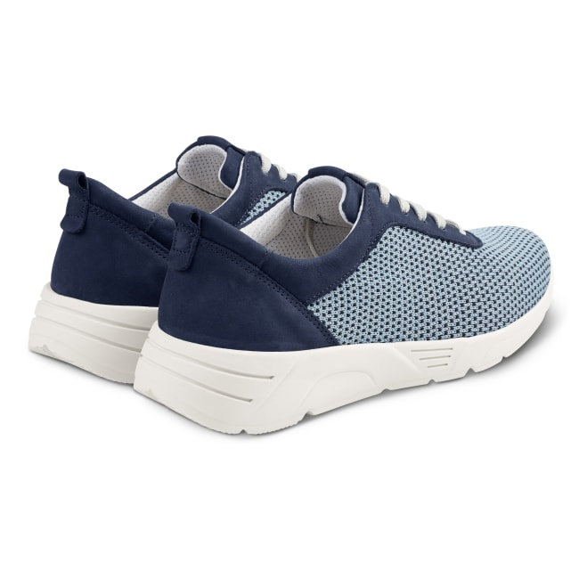 Sneaker Softknit Neu Blau – modischer und bequemer Schuh für Hallux valgus und empfindliche Füße von LaShoe.de
