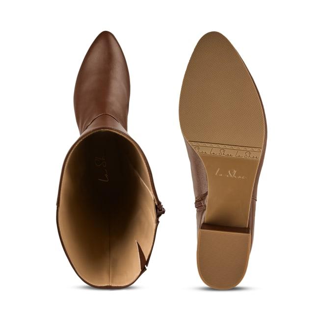 Vintage Stiefel Braun – modischer und bequemer Schuh für Hallux valgus und empfindliche Füße von LaShoe.de