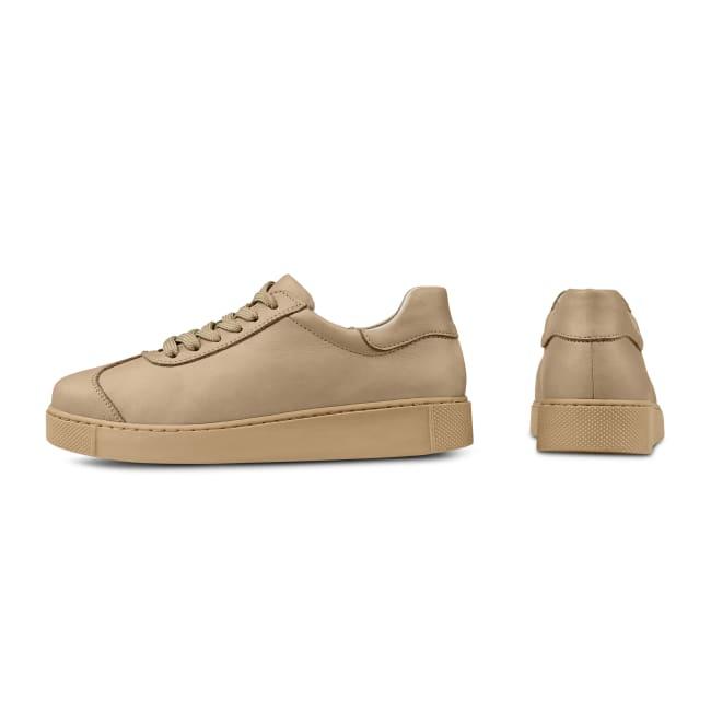 Sneaker Retro All Beige – modischer und bequemer Schuh für Hallux valgus und empfindliche Füße von LaShoe.de