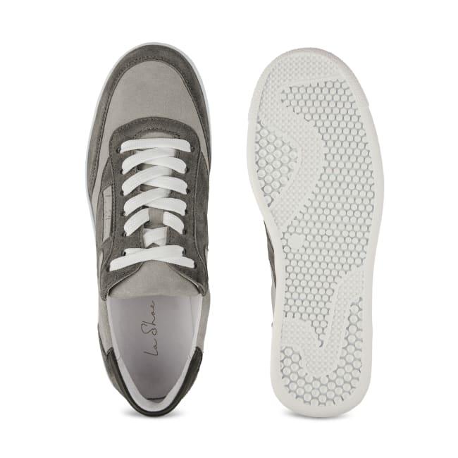 Sneaker Tennis Style Grau – modischer und bequemer Schuh für Hallux valgus und empfindliche Füße von LaShoe.de