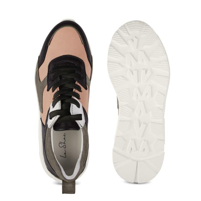 Chunky Sneaker Schwarz – modischer und bequemer Schuh für Hallux valgus und empfindliche Füße von LaShoe.de