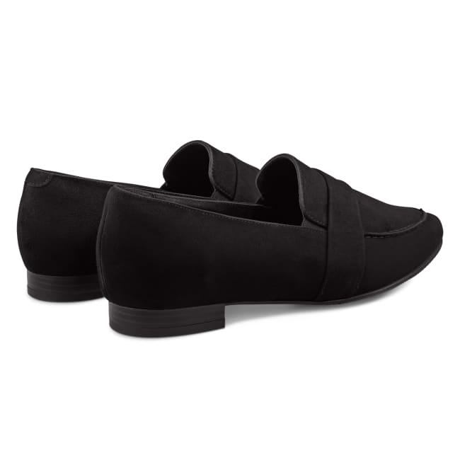 Loafer Spitz Schwarz – modischer und bequemer Schuh für Hallux valgus und empfindliche Füße von LaShoe.de
