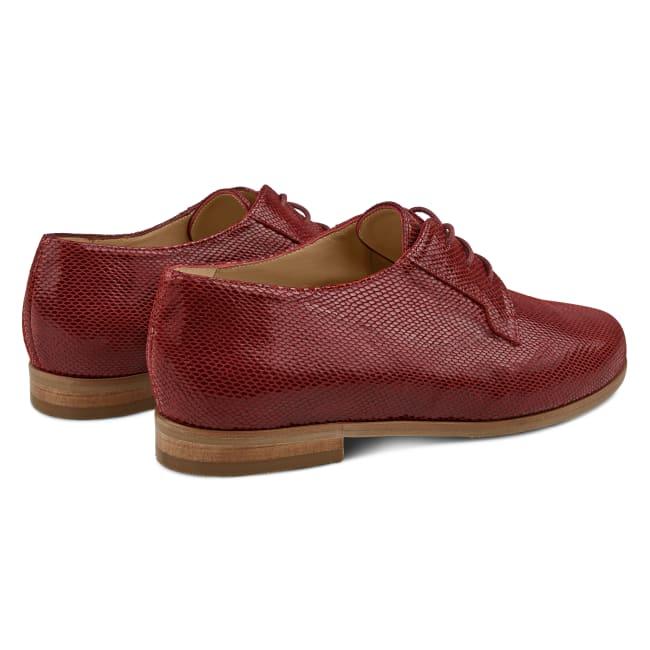 Premium Schnürschuh Bordeaux – modischer und bequemer Schuh für Hallux valgus und empfindliche Füße von LaShoe.de
