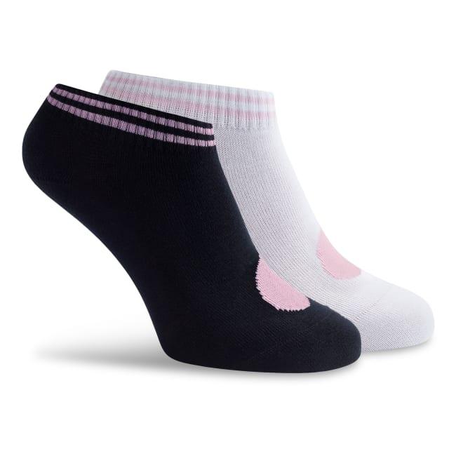 Sneaker Socken schwarz/weiß – modischer und bequemer Schuh für Hallux valgus und empfindliche Füße von LaShoe.de