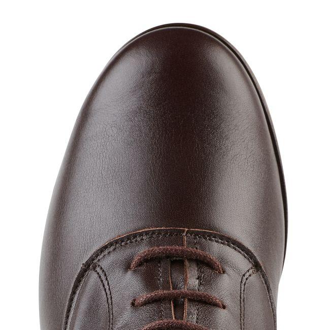 Schnürboot Braun – modischer und bequemer Schuh für Hallux valgus und empfindliche Füße von LaShoe.de
