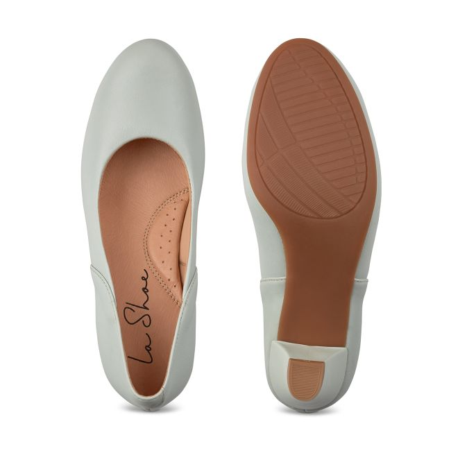 Klassischer Pumps mit Softfußbett Mint – modischer und bequemer Schuh für Hallux valgus und empfindliche Füße von LaShoe.de
