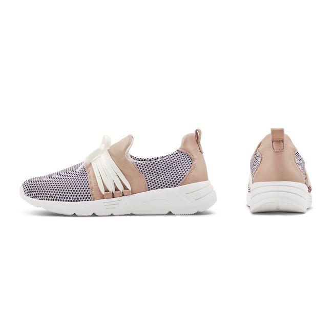 Sneaker Softknit 180 Rosé – modischer und bequemer Schuh für Hallux valgus und empfindliche Füße von LaShoe.de