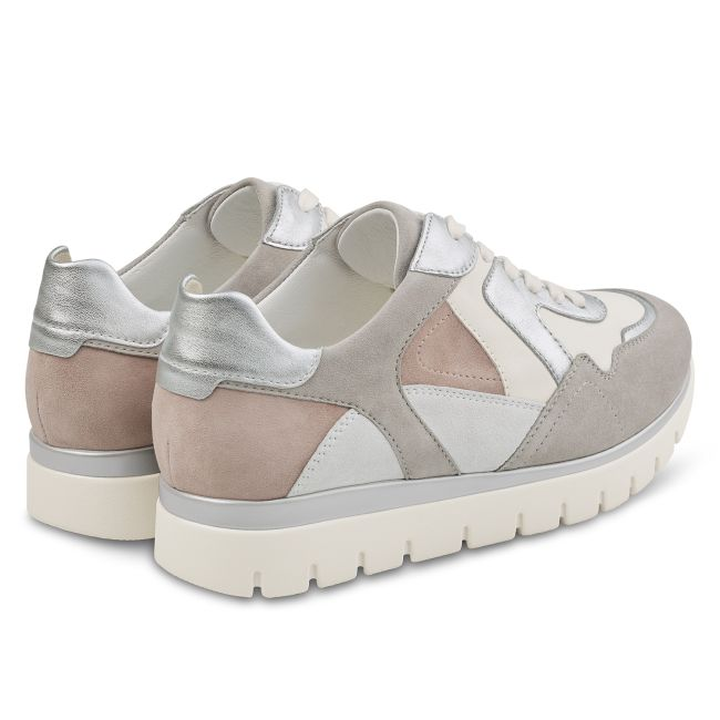 Ugly Sneaker Grau/Taupe – modischer und bequemer Schuh für Hallux valgus und empfindliche Füße von LaShoe.de