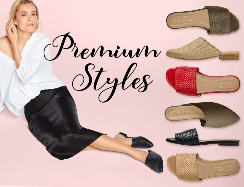 Entdecken Sie die bequemen Premium Styles bei LaShoe