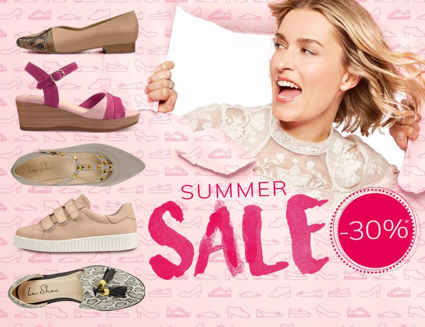 Der große LaShoe-Sommersale startet - Jetzt shoppen und sparen!